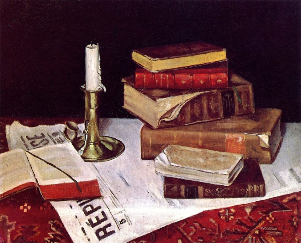 Still Life with Books, 1890